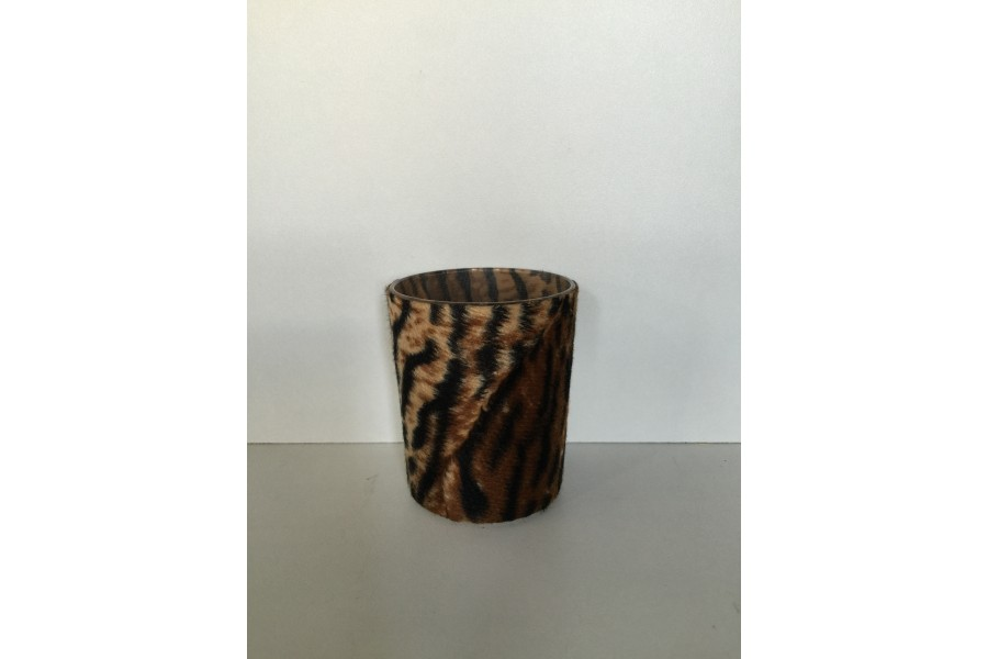 Bougie cylindrique 160 gr. ambre musc hibiscus